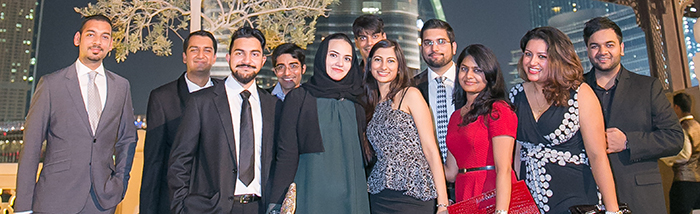 Alumni and Student Reception in Dubai